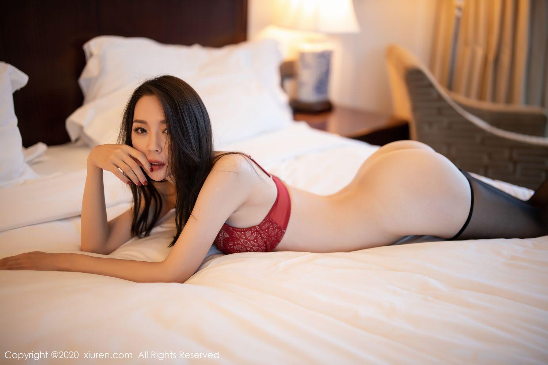 [XiuRen] Vol.1940 Meng Xin Yue 47P, Black Silk, Meng Xin Yue, Tall, Underwear, Xiuren