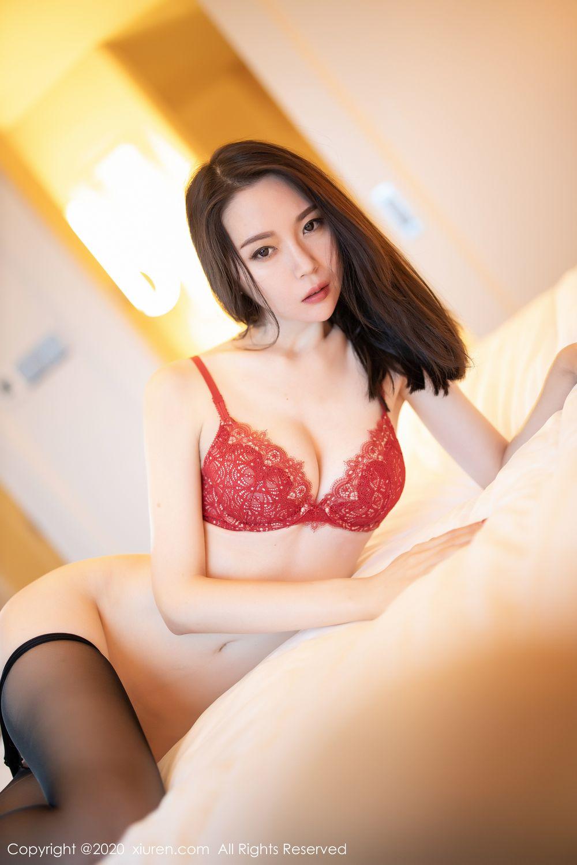 [XiuRen] Vol.1940 Meng Xin Yue 56P, Black Silk, Meng Xin Yue, Tall, Underwear, Xiuren