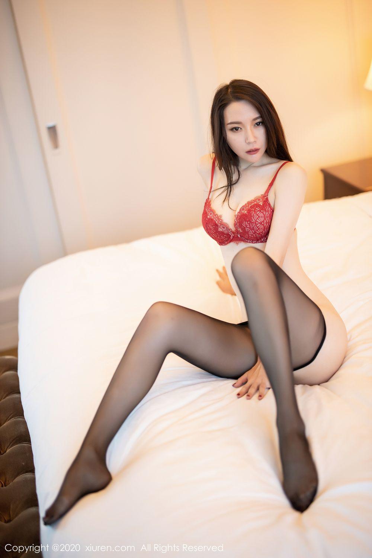 [XiuRen] Vol.1940 Meng Xin Yue 62P, Black Silk, Meng Xin Yue, Tall, Underwear, Xiuren