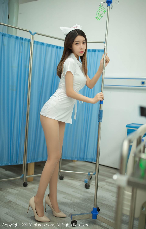 [XiuRen] Vol.1941 Xia Shi Shi 11P, Nurse, Uniform, Xia Shi Shi, Xiuren