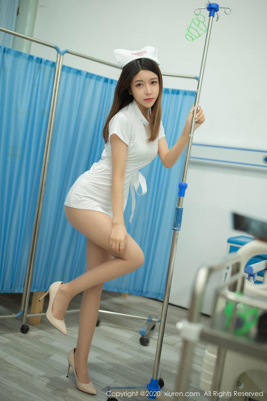 [XiuRen] Vol.1941 Xia Shi Shi 12P, Nurse, Uniform, Xia Shi Shi, Xiuren