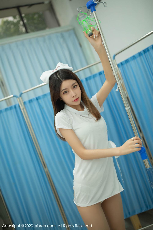 [XiuRen] Vol.1941 Xia Shi Shi 13P, Nurse, Uniform, Xia Shi Shi, Xiuren