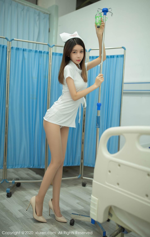 [XiuRen] Vol.1941 Xia Shi Shi 14P, Nurse, Uniform, Xia Shi Shi, Xiuren