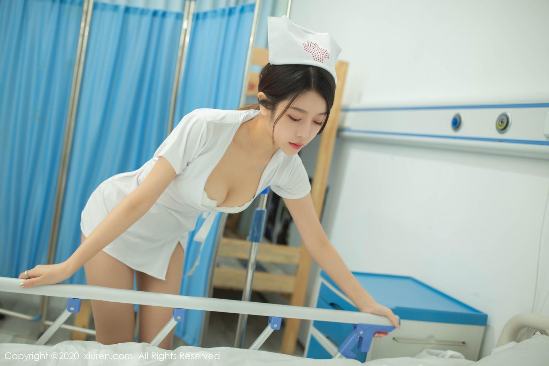 [XiuRen] Vol.1941 Xia Shi Shi 7P, Nurse, Uniform, Xia Shi Shi, Xiuren