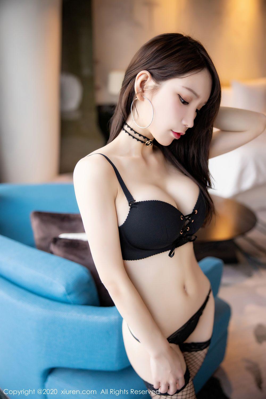 [XiuRen] Vol.1953 Zhou Yu Xi 67P, Black Silk, Underwear, Xiuren, Zhou Yu Xi