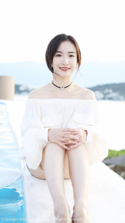 [XiuRen] Vol.1956 Yi Er Na Tie 13P, Gong Tian Yi, Lovely, Pretty, Xiuren