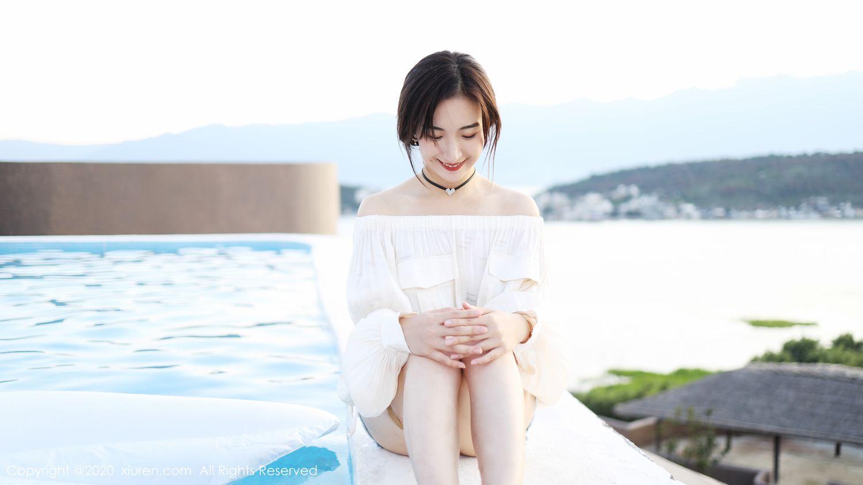 [XiuRen] Vol.1956 Yi Er Na Tie 14P, Gong Tian Yi, Lovely, Pretty, Xiuren