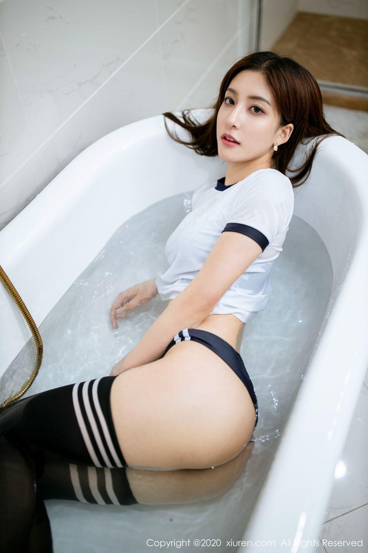 [XiuRen] Vol.1975 Lin Wen Wen 40P, Bathroom, Lin Wen Wen, Wet, Xiuren