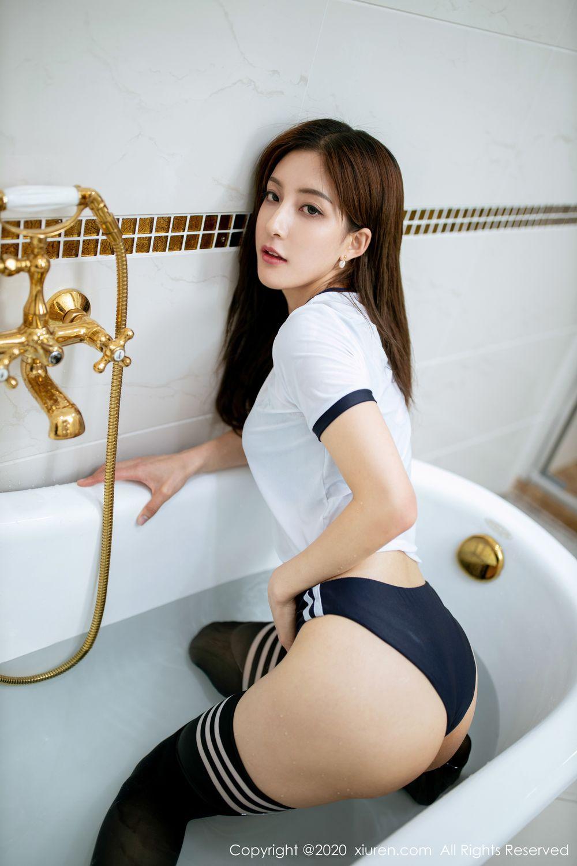 [XiuRen] Vol.1975 Lin Wen Wen 46P, Bathroom, Lin Wen Wen, Wet, Xiuren