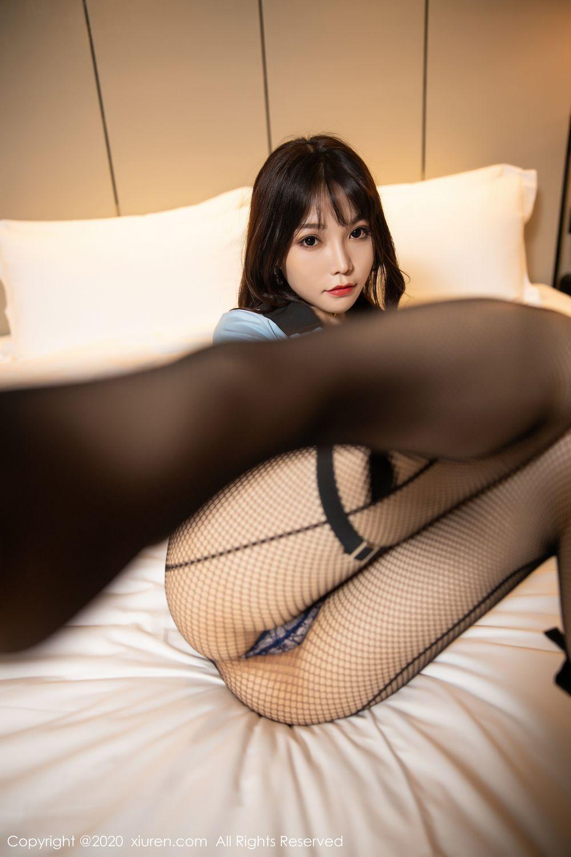 [XiuRen] Vol.1982 Zhi Zhi Booty 58P, Black Silk, Chen Zhi, Policewoman, Uniform, Xiuren