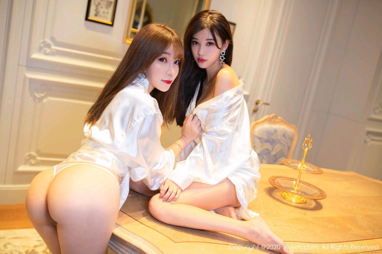[XiuRen] Vol.1990 Yang Chen Chen 14P, Adult, Chen Zhi, Sisters, Xiuren, Yang Chen Chen