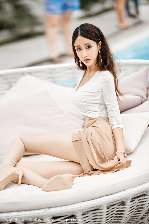 [XiuRen] Vol.1993 Lin Zi Xin 1P, Lin Zi Xin, Street, Underwear, Xiuren