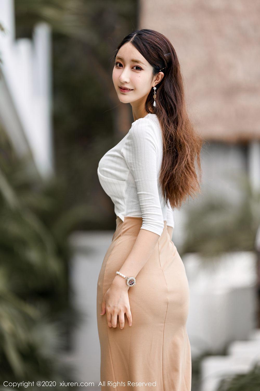 [XiuRen] Vol.1993 Lin Zi Xin 2P, Lin Zi Xin, Street, Underwear, Xiuren