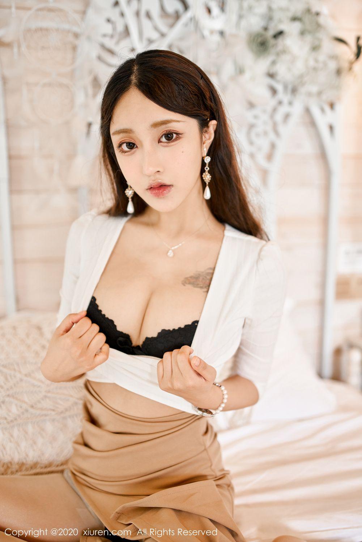 [XiuRen] Vol.1993 Lin Zi Xin 3P, Lin Zi Xin, Street, Underwear, Xiuren