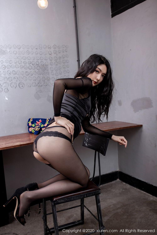 [XiuRen] Vol.1999 Xiao Re Ba 52P, Black Silk, Di Yi, Underwear, Xiuren