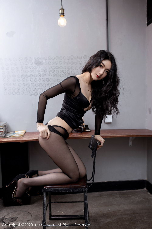[XiuRen] Vol.1999 Xiao Re Ba 53P, Black Silk, Di Yi, Underwear, Xiuren