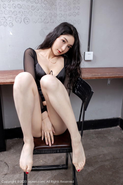 [XiuRen] Vol.1999 Xiao Re Ba 64P, Black Silk, Di Yi, Underwear, Xiuren