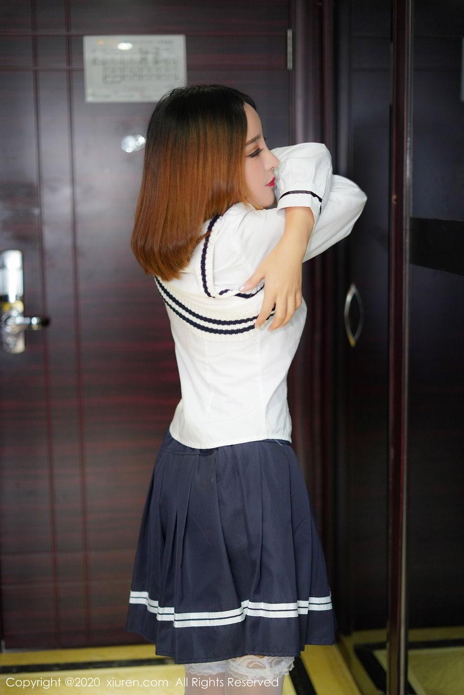[XiuRen] Vol.2010 Li Zi Xi 10P, Li Zi Xi, School Uniform, Xiuren