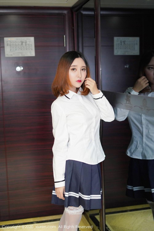 [XiuRen] Vol.2010 Li Zi Xi 13P, Li Zi Xi, School Uniform, Xiuren