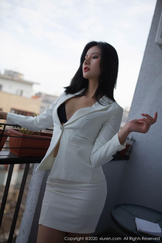 [XiuRen] Vol.2016 Jiu Shi A Zhu 17P, Jiu Shi A Zhu, Tall, Uniform, Xiuren