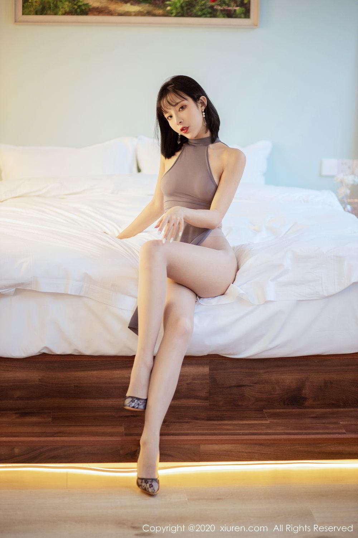 [XiuRen] Vol.2022 Chen Xiao Miao 19P, Chen Xiao Miao, Cheongsam, Tall, Xiuren