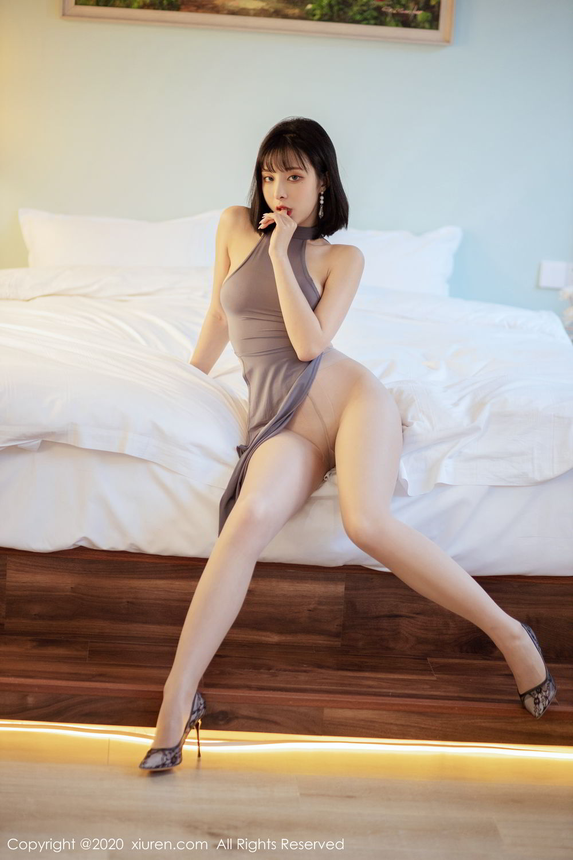 [XiuRen] Vol.2022 Chen Xiao Miao 21P, Chen Xiao Miao, Cheongsam, Tall, Xiuren