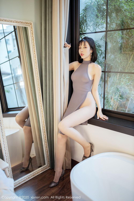 [XiuRen] Vol.2022 Chen Xiao Miao 39P, Chen Xiao Miao, Cheongsam, Tall, Xiuren