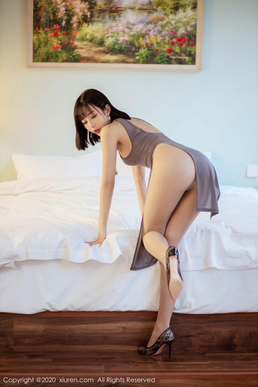 [XiuRen] Vol.2022 Chen Xiao Miao 7P, Chen Xiao Miao, Cheongsam, Tall, Xiuren