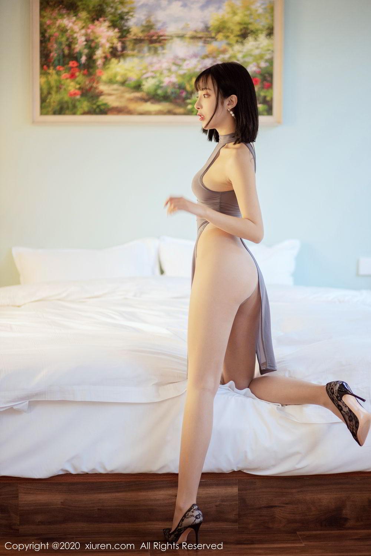 [XiuRen] Vol.2022 Chen Xiao Miao 9P, Chen Xiao Miao, Cheongsam, Tall, Xiuren
