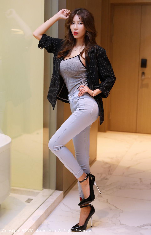 [XiuRen] Vol.2029 Tian Xiao Yan 10P, Tall, Tian Xiao Yan, Underwear, Xiuren