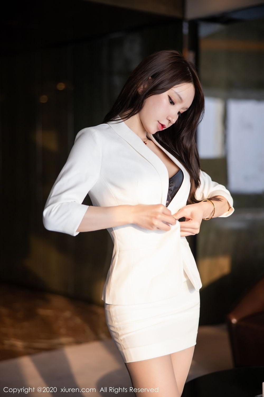[XiuRen] Vol.2031 Zhou Yu Xi 4P, Uniform, Xiuren, Zhou Yu Xi
