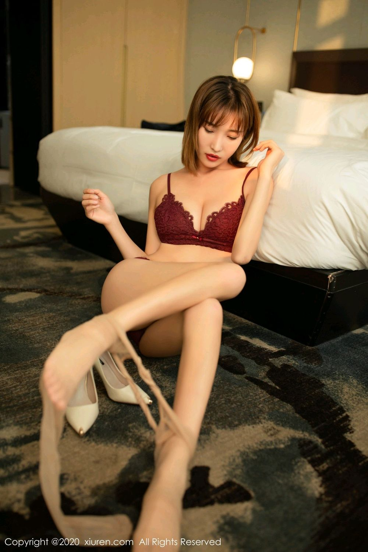 [XiuRen] Vol.2033 Lu Xuan Xuan 52P, Lu Xuan Xuan, Tall, Uniform, Xiuren