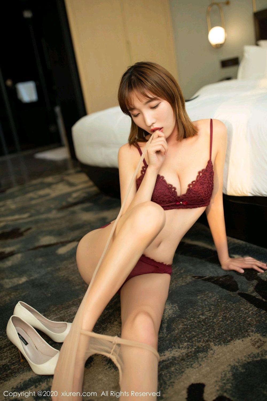 [XiuRen] Vol.2033 Lu Xuan Xuan 56P, Lu Xuan Xuan, Tall, Uniform, Xiuren
