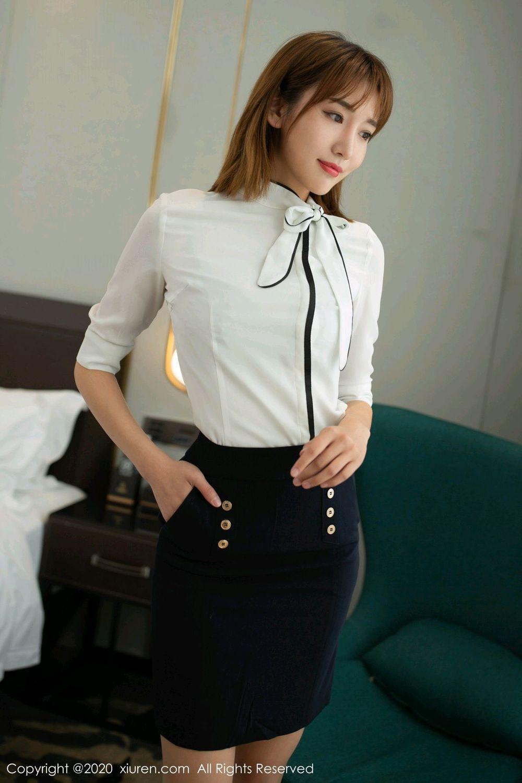 [XiuRen] Vol.2033 Lu Xuan Xuan 6P, Lu Xuan Xuan, Tall, Uniform, Xiuren