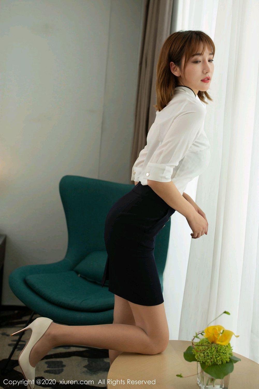 [XiuRen] Vol.2033 Lu Xuan Xuan 7P, Lu Xuan Xuan, Tall, Uniform, Xiuren