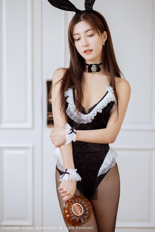 [XiuRen] Vol.2035 Lin Wen Wen 17P, Black Silk, Lin Wen Wen, Tall, Xiuren