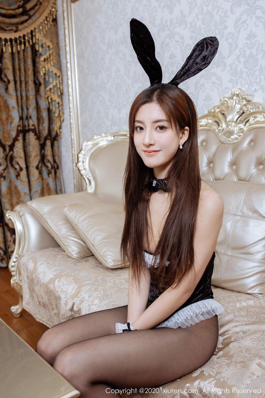 [XiuRen] Vol.2035 Lin Wen Wen 38P, Black Silk, Lin Wen Wen, Tall, Xiuren