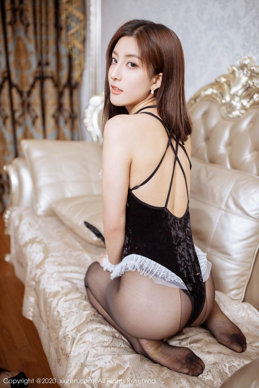 [XiuRen] Vol.2035 Lin Wen Wen 59P, Black Silk, Lin Wen Wen, Tall, Xiuren