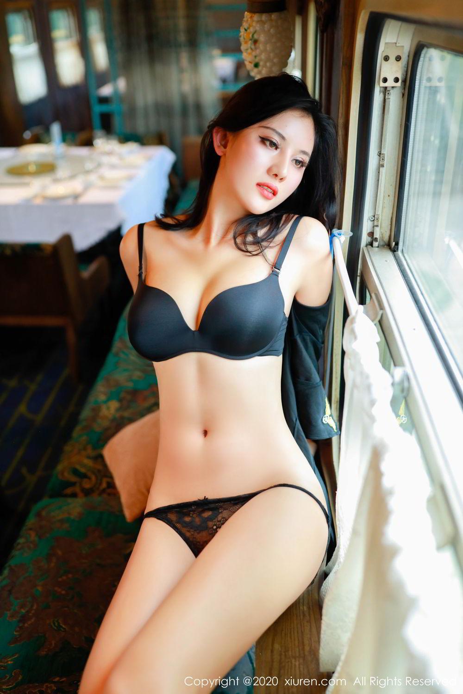 [XiuRen] Vol.2036 Jiu Shi A Zhu 89P, Black Silk, Jiu Shi A Zhu, Uniform, Xiuren