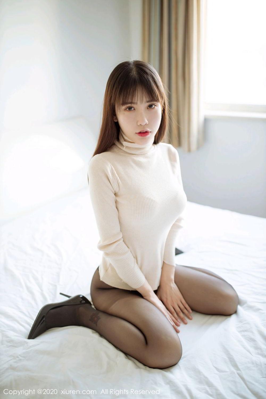 [XiuRen] Vol.2044 You You Jiang 12P, Black Silk, Underwear, Xiuren, You You Jiang