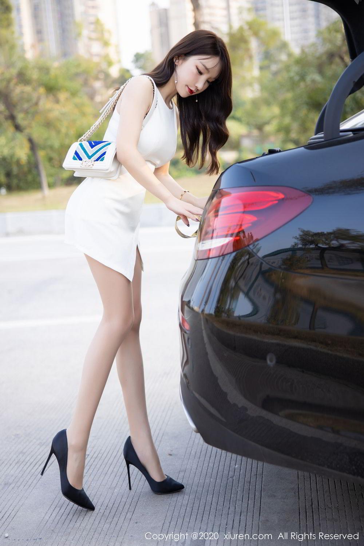 [XiuRen] Vol.2046 Zhou Yu Xi 9P, Tall, Underwear, Xiuren, Zhou Yu Xi