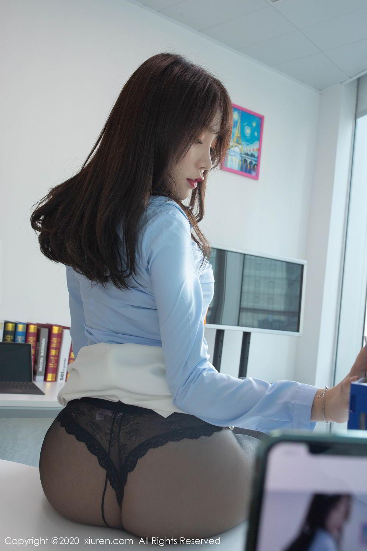 [XiuRen] Vol.2047 Chen Zhi 13P, Black Silk, Chen Zhi, Underwear, Uniform, Xiuren