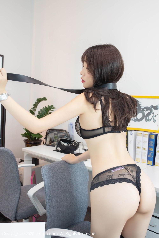 [XiuRen] Vol.2047 Chen Zhi 58P, Black Silk, Chen Zhi, Underwear, Uniform, Xiuren