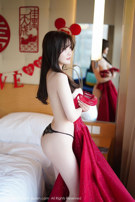 [XiuRen] Vol.2058 Nuo Mei Zi 107P, Mini Da Meng Meng, Underwear, Xiuren