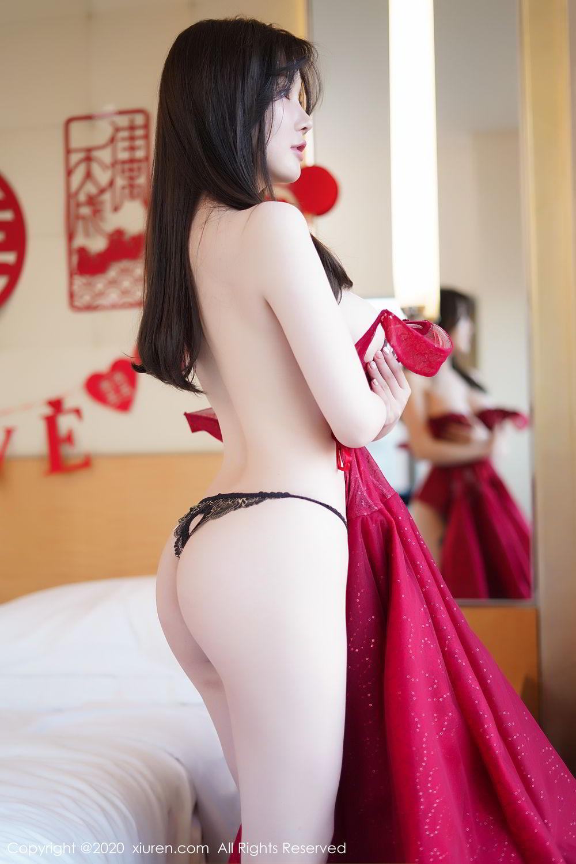 [XiuRen] Vol.2058 Nuo Mei Zi 109P, Mini Da Meng Meng, Underwear, Xiuren