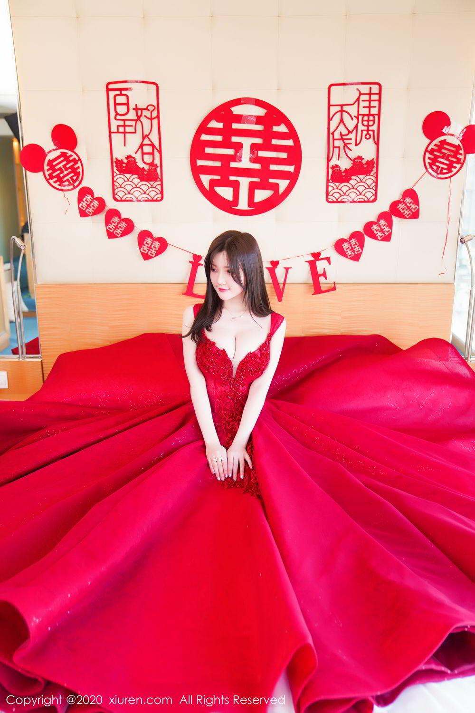 [XiuRen] Vol.2058 Nuo Mei Zi 10P, Mini Da Meng Meng, Underwear, Xiuren