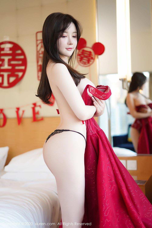 [XiuRen] Vol.2058 Nuo Mei Zi 110P, Mini Da Meng Meng, Underwear, Xiuren