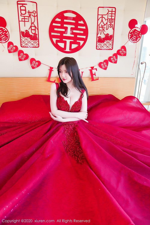 [XiuRen] Vol.2058 Nuo Mei Zi 14P, Mini Da Meng Meng, Underwear, Xiuren