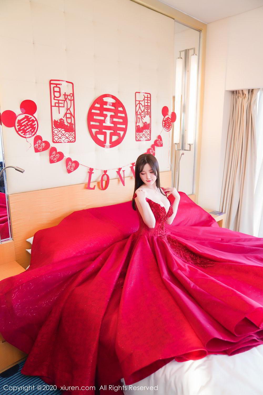 [XiuRen] Vol.2058 Nuo Mei Zi 15P, Mini Da Meng Meng, Underwear, Xiuren