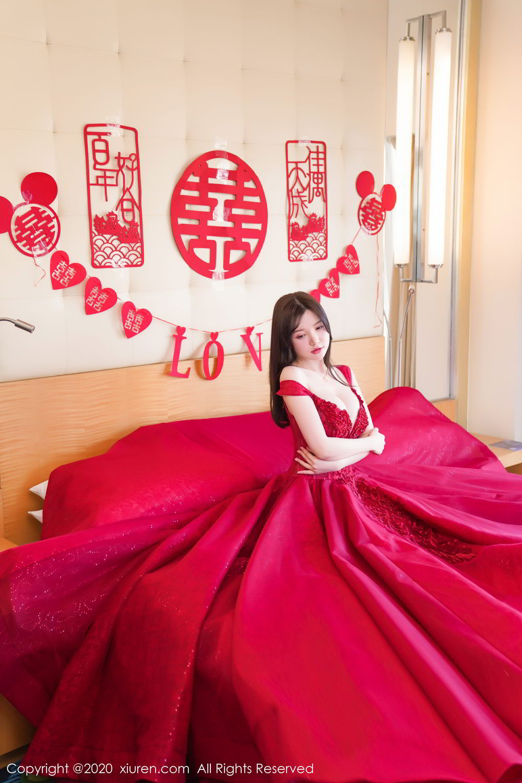 [XiuRen] Vol.2058 Nuo Mei Zi 16P, Mini Da Meng Meng, Underwear, Xiuren